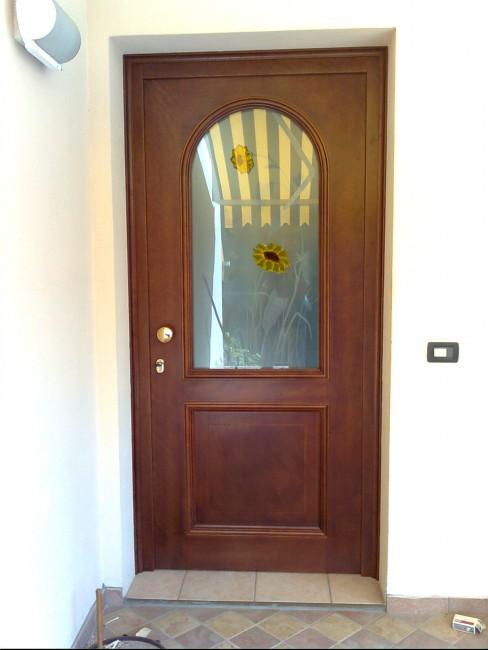 Portoncini ingresso legno e vetro rn96 regardsdefemmes - Porte ingresso vetro ...