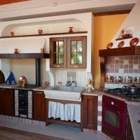 Cucina in muratura Anta Povera