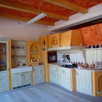 Cucine in muratura Country Old Italy